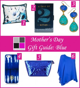 Mother's Day Gift Guide Blue