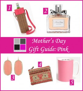 Mother's Day Gift Guide Pink