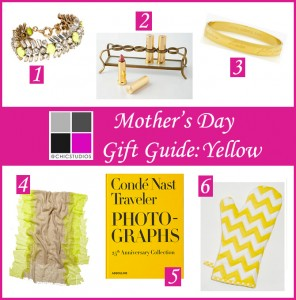 Mother's Day Gift Guide Yellow