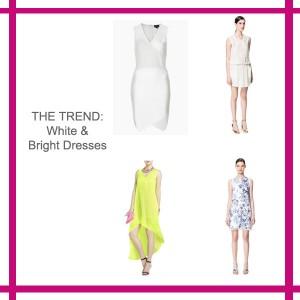 trend white dress