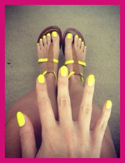 yellow mani