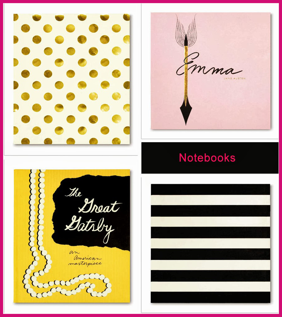 Kate Spade Notebooks