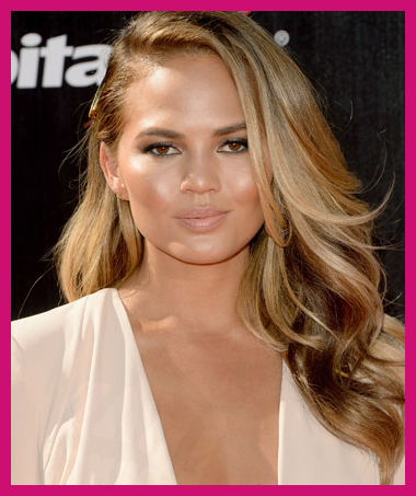 falls-best-hair-colors-chrissy-teigen