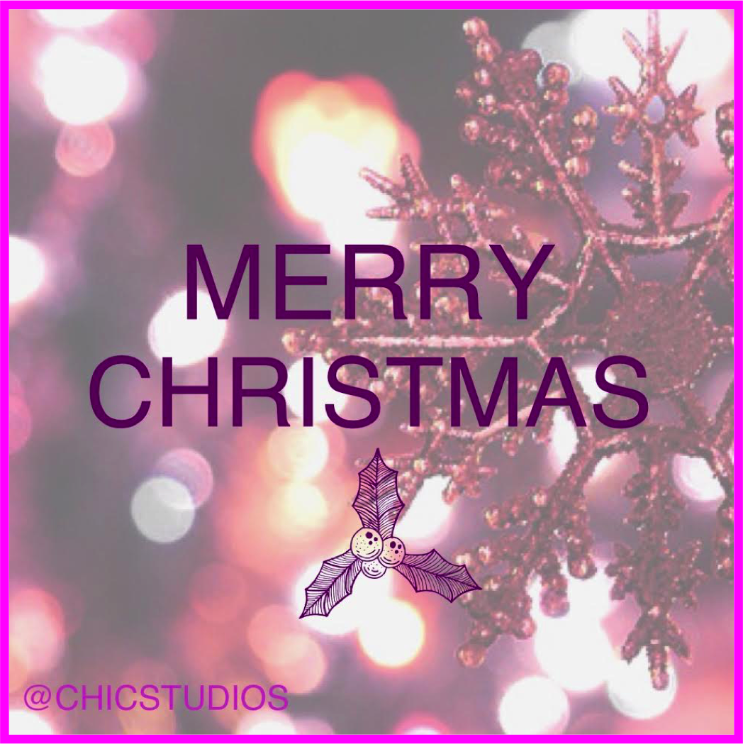 Merry Christmas from CHICSTUDIOS NYC