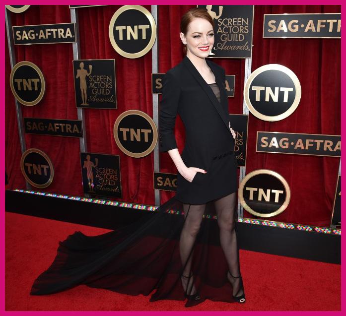 Emma Stone 2015 SAG Awards