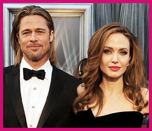 Top Celebrity Couples Brad Pitt Angelina Jolie