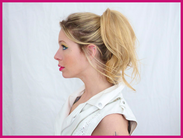 BLOG - DON'T - High Cheerleader Ponytail