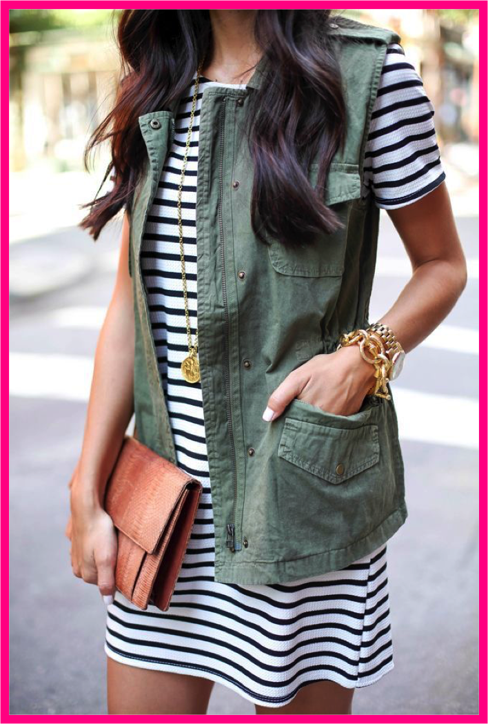 CHIC St Patricks Day Military Vest