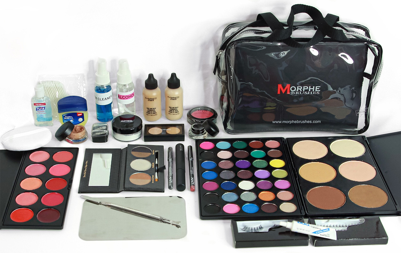 Professional mac makeup kit